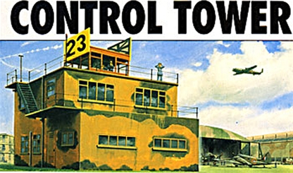 WWII Aircraft Control Tower
