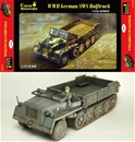 WWII German SWS Flatbed Cargo Halftrack