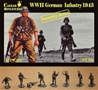 WWII German Infantry 1943  - figure kit