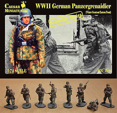 WWII Panzergrenadiers in Winter Greatcoats