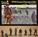 WWII German Panzergrenadiers Normandy 1944
