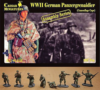 WWII Panzergrenadiers in Camouflage Capes