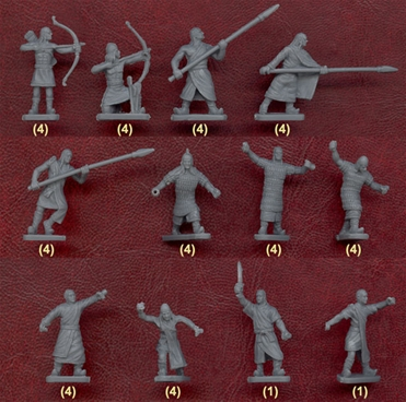 Ancient Hittite Warriors - retired