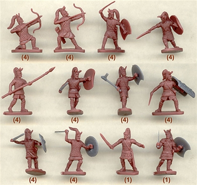 Ancient Mycenaean Greek Army - retired