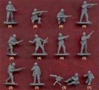 WWII US Infantry set #1