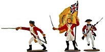 Painted Plastic Toy Soldiers