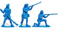 Unpainted Plastic Toy Soldiers